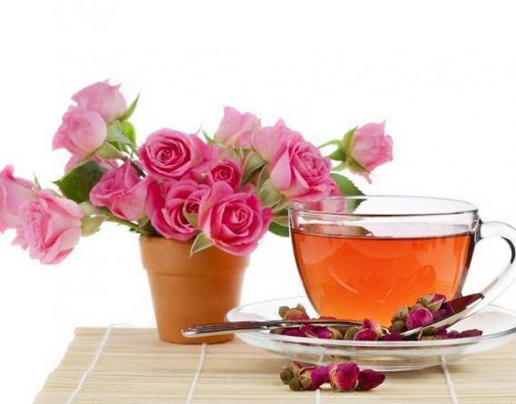 فروش عمده چای غنچه گل محمدی در کرج